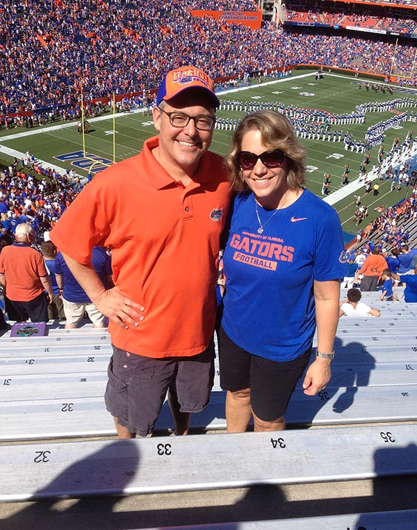 Ted Geltner and his wife Jill