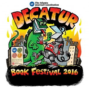 Official 2016 Decatur Book Festival Poster