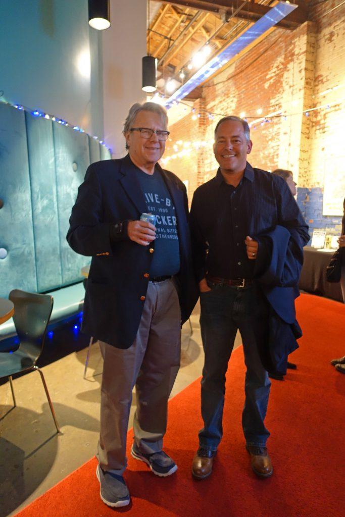 Doug Monroe and Ted Geltner, photo courtesy of BMG