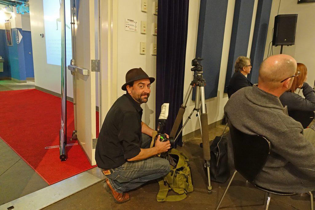 Photographer Justin Evans, photo courtesy of BMG