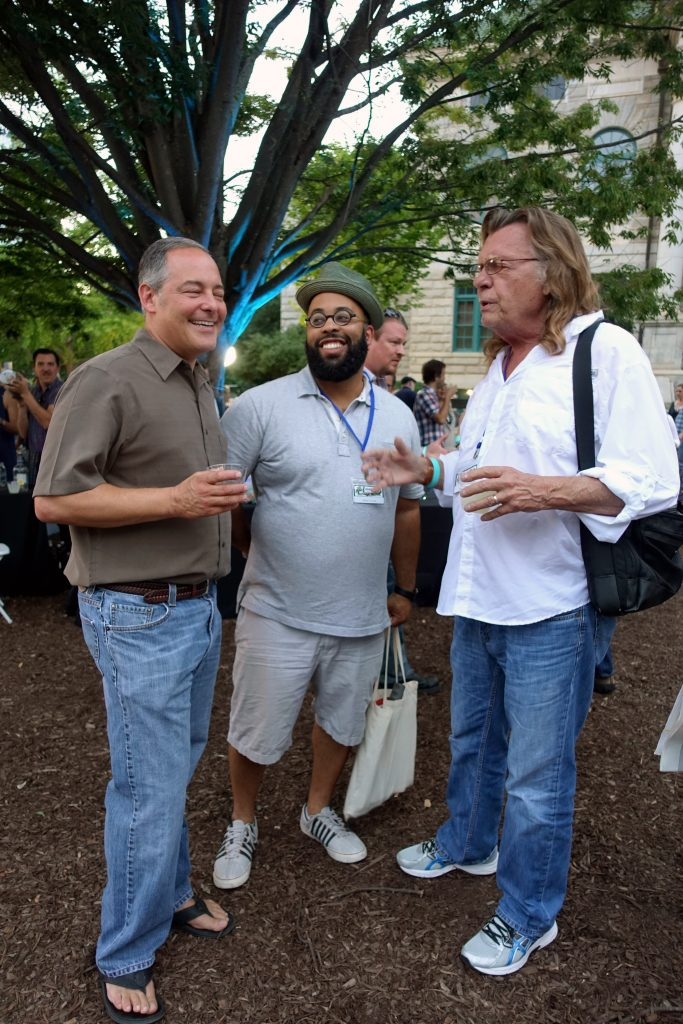 Ted Geltner and rock star poets Kevin Young and Thomas Lux