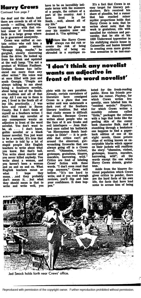 AJC-Crews-Harry Crews is a stomp-down hard-core moralist-5-15-77_Page_2