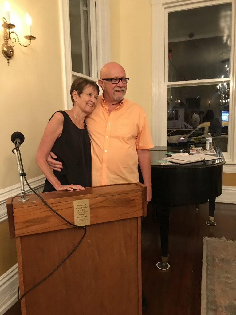 Event organizers Carol Shaughnessy & husband David Koontz