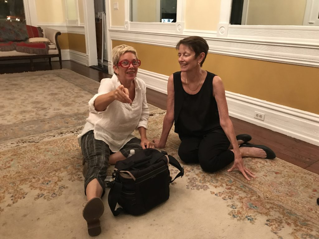 Friends Carol Tedesco & Carol Shaughnessy at the end of the night