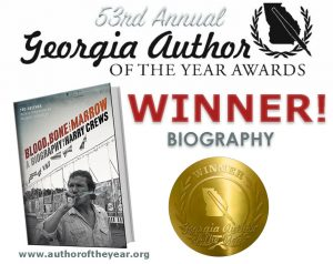 Ted Geltner Wins A Georgia Author of the Year Award!